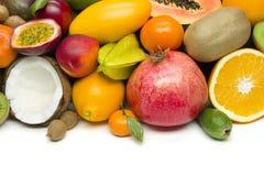 Frutas tropicales exóticas Imagen de archivo libre de regalías