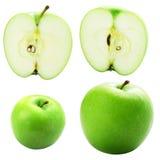 Frutas verdes de la manzana Fotografía de archivo