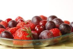 Frutas vermelhas Fotografia de Stock Royalty Free