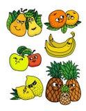 Frutas vivas Imagem de Stock Royalty Free