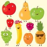 Frutas y baya alegres Foto de archivo libre de regalías