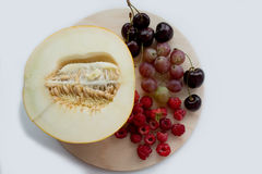 Frutas y bayas del verano Imagen de archivo