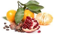 Frutas y dieta Foto de archivo libre de regalías