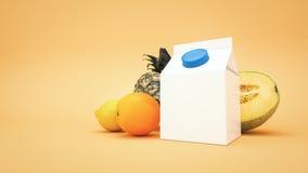 Frutas y jugos Imagenes de archivo