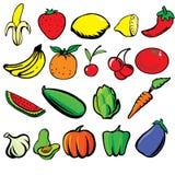 Frutas y Veges Imagen de archivo