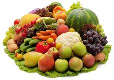 Frutas y verdura Foto de archivo libre de regalías