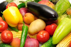 Frutas y verdura de la colección Fotos de archivo