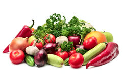 Frutas y verdura de la colección Fotos de archivo libres de regalías
