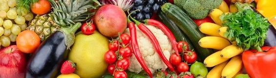 Frutas y verdura frescas Foto de archivo libre de regalías