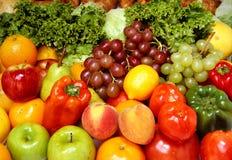 Frutas y verdura frescas Fotografía de archivo
