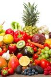 Frutas y verduras Foto de archivo