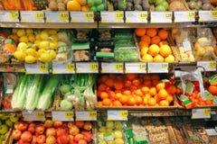 Frutas y verduras fotos de archivo