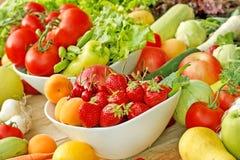 Frutas y verduras Fotos de archivo libres de regalías