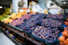 Frutas y verduras de la falta de definición del fondo fotos de archivo libres de regalías