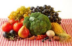 Frutas y verduras del otoño Foto de archivo libre de regalías