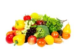 Frutas y verduras frescas Foto de archivo libre de regalías