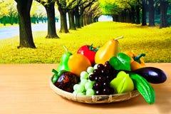 Frutas y verduras frescas Imágenes de archivo libres de regalías