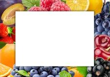 Frutas y verduras frescas del color Concepto sano del alimento Foto de archivo