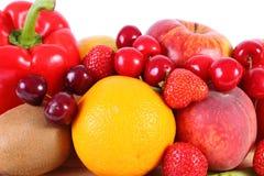 Frutas y verduras frescas, nutrición sana imagenes de archivo
