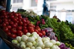 Frutas y verduras orgánicas deliciosas Fotos de archivo libres de regalías