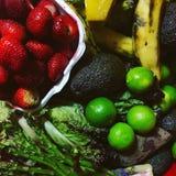 Frutas y verduras orgánicas Stock Photos