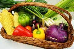 Frutas y verduras orgánicas sanas Fotos de archivo libres de regalías