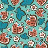 Frutifica seamless-18 ilustração stock