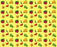 Frutifica a textura sem emenda do verão Imagem de Stock Royalty Free