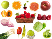 Frutis and vegetables Stock Photo
