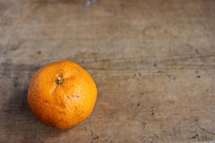 Fruto alaranjado Fotografia de Stock