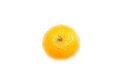 Fruto alaranjado do caqui em um fundo branco imagem de stock royalty free
