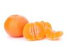 Fruto alaranjado do mandarino ou da tangerina imagem de stock