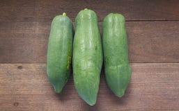 Fruto cru da papaia Imagem de Stock