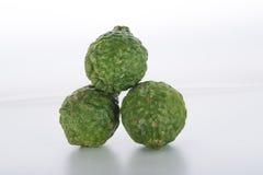 Fruto da bergamota isolado no fundo branco Imagem de Stock