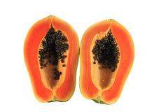 Fruto da papaia Imagem de Stock