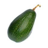 Fruto de abacate isolado no fundo branco Foto de Stock Royalty Free