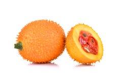 Fruto de Gac, Jackfruit do bebê, cabaça amarga espinhoso, Grourd doce ou C fotos de stock