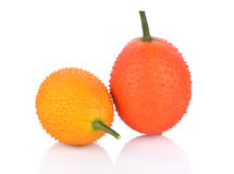 Fruto de Gac no fundo branco Foto de Stock