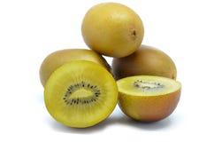 Fruto de quivi do ouro amarelo Fotografia de Stock Royalty Free
