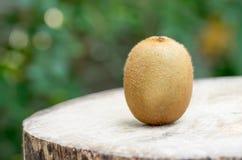 Fruto de quivi na tabela de madeira Foto de Stock