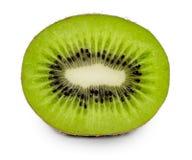 Fruto de quivi suculento isolado no fundo branco Foto de Stock Royalty Free