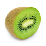 Fruto de quivi suculento isolado no fundo branco Fotografia de Stock