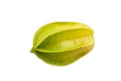 Fruto do Carambola isolado no fundo branco Foto de Stock