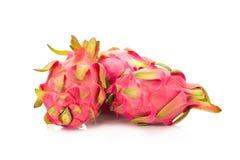 Fruto do dragão isolado no fundo branco Imagens de Stock Royalty Free