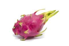 Fruto do dragão isolado no fundo branco com trajeto de grampeamento Imagem de Stock