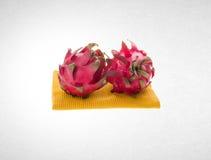 fruto do dragão ou fruto orgânico do dragão no fundo Imagem de Stock