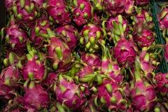 Fruto do dragão de Pitaya Foto de Stock