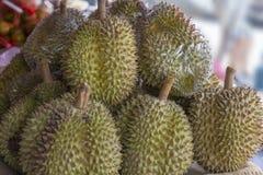 Fruto do Durian - rei dos frutos fotografia de stock royalty free