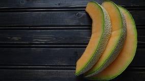 Fruto do mel?o do cantalupo fotos de stock royalty free