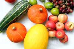 Fruto do outono no jardim Fotos de Stock